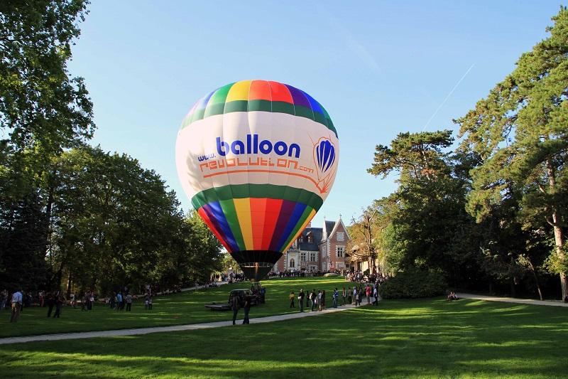 Amboise Montgolfière – BALLOONREVOLUTION – EVENEMENTCIEL à AMBOISE © Balloon Revolution