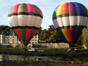 Amboise Montgolfière à AMBOISE - 5  © Balloon Revolution