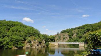 Bateau promenade barrage lac d'Eguzon