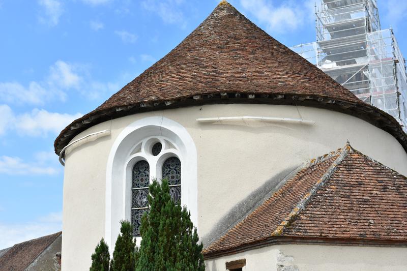 Eglise Saint-Louis à BATILLY-EN-PUISAYE © OT Terres de Loire et Canaux- IRémy