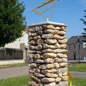 Stèle d'un clairon de l'Armistice à INTREVILLE © mtcb