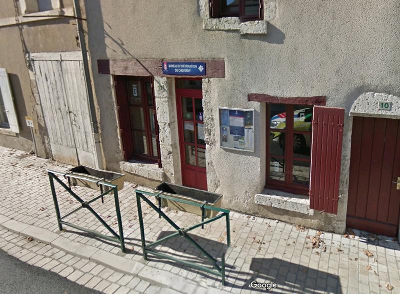 Bureau d'information touristique de Cheverny à CHEVERNY © OT-Blois-Chambord