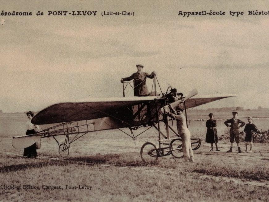 Exposition – 100 ans d'aviation en Loir-et-Cher : l'aérodrome de Pontlevoy à ORGERES-EN-BEAUCE © Département du Loir-et-Cher
