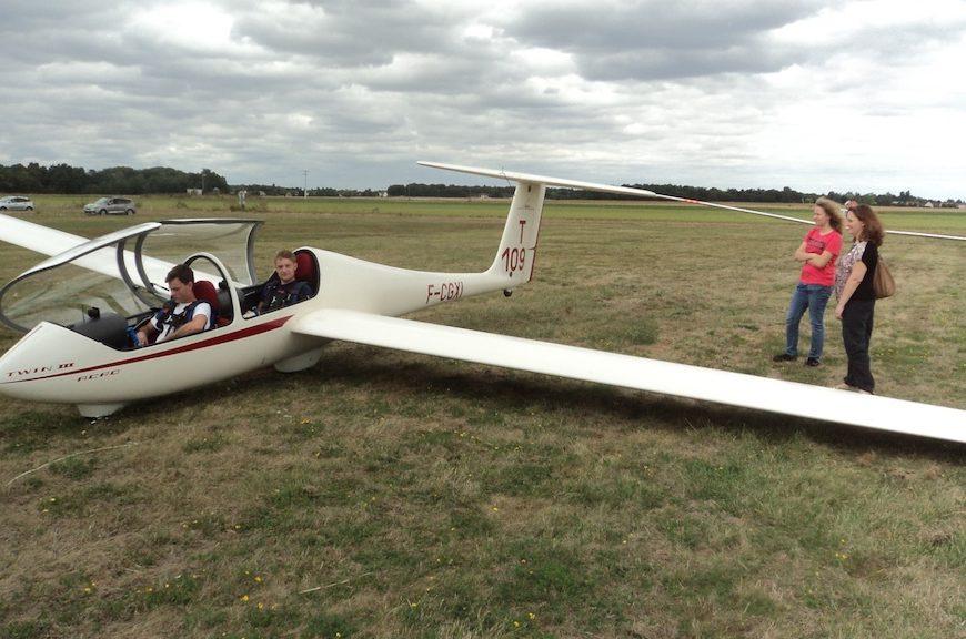Vol en Planeur à VIMORY - 1