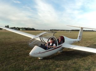 Vol en Planeur à VIMORY - 2