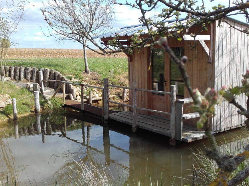 La Ferme du Javot – Cabane sur pilotis à SAINT-GERMAIN-DES-PRES - 1