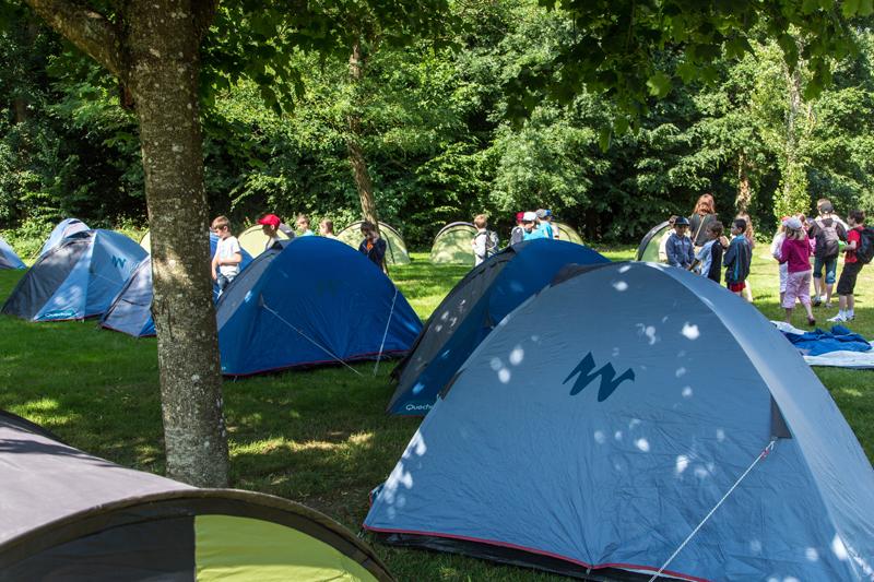 Camping du Perche à FONTAINE-SIMON © Patrick Forget - www.sagaphoto.com