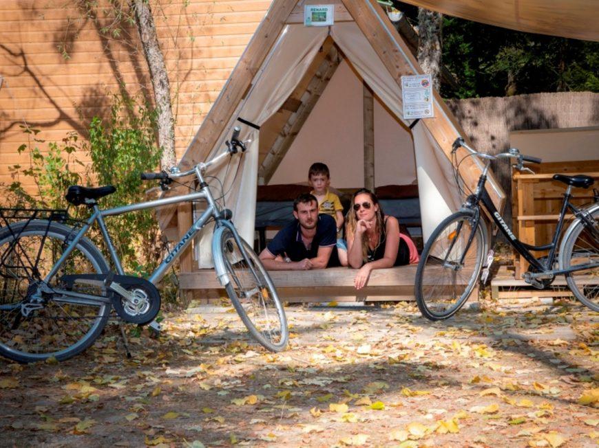 Camping Sites et Paysages Les Saules à CHEVERNY © MIR