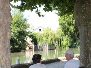 Canal de Briare et ses écluses à MONTARGIS - 4  © OT AME