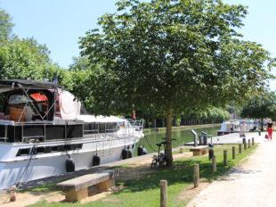 Canal de Briare et ses écluses à MONTARGIS - 3  © OT AME