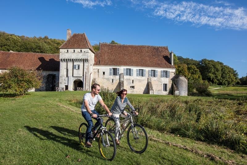 Château-monastère de la Corroirie à MONTRESOR © David Darrault