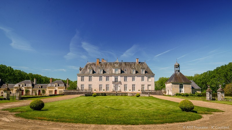 Château de Champchevrier à CLERE-LES-PINS © Jean-Christophe Coutand / ADT Touraine