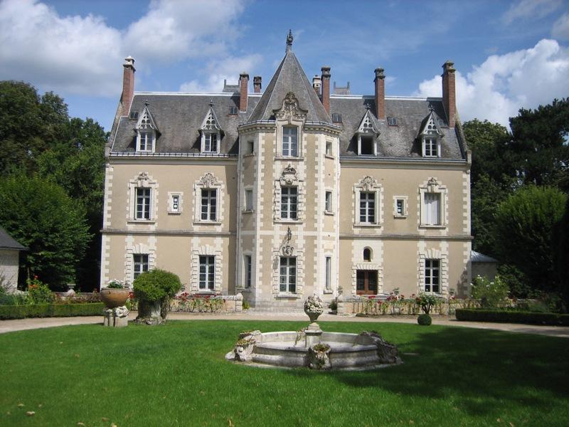 Le Château de Fontenay – Gite de la maison du Boulanger à BLERE ©