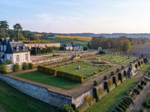 Château de Valmer – Vins et Jardins à CHANCAY - 5  © Charly's-Drone