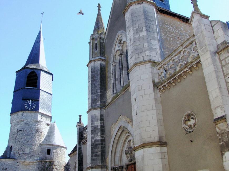 Eglise Saint-Pierre et Saint-Paul à CHATILLON-COLIGNY © Office de Tourisme Châtillon Coligny