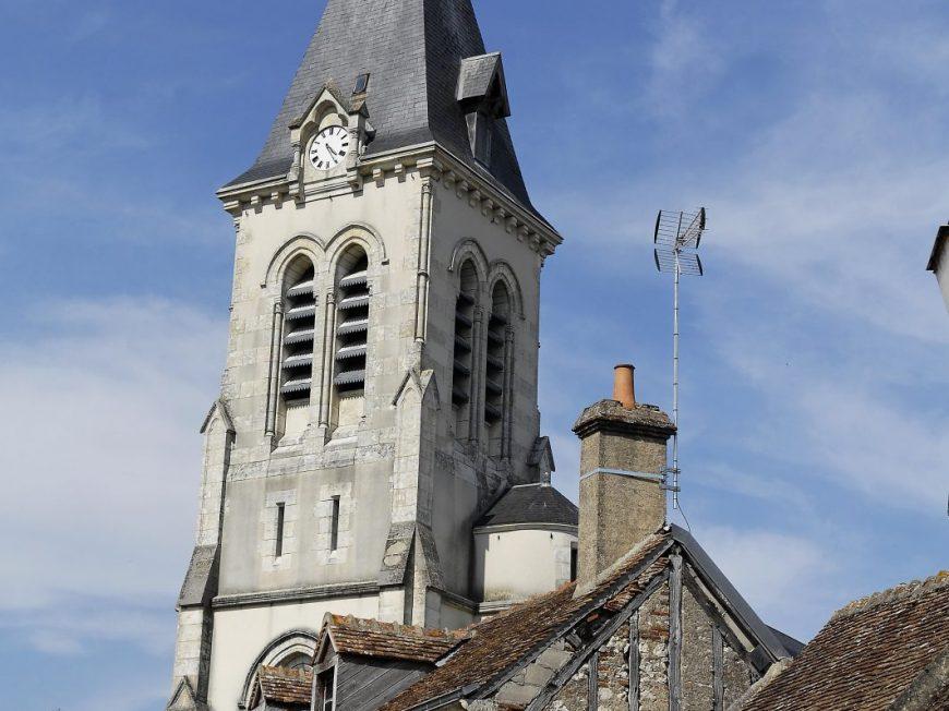 Eglise Saint-Maurice à CHATILLON-SUR-LOIRE © mairie de chatillon-sur-Loire