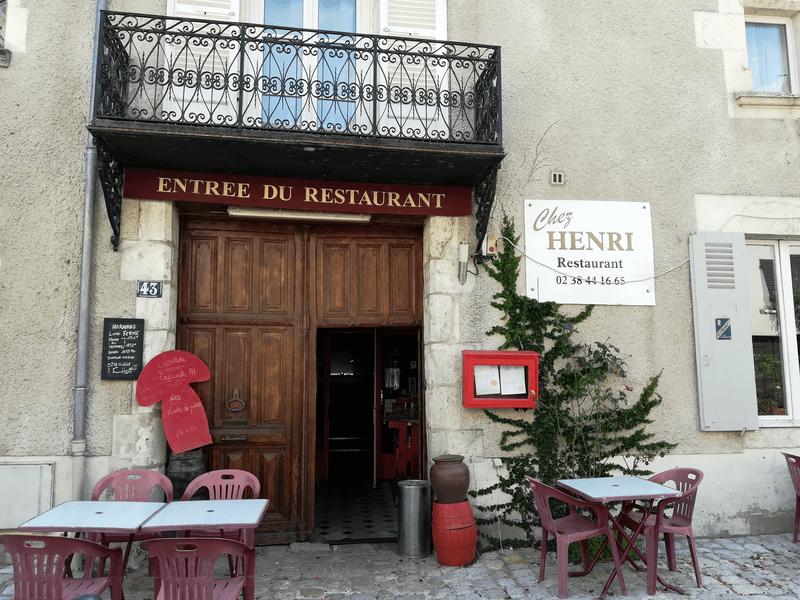 Chez Henri II à BEAUGENCY ©  Office de Tourisme des Terres du Val de Loire