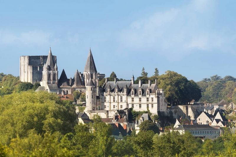 Cité royale de Loches à LOCHES © Stevens Frémont CD37