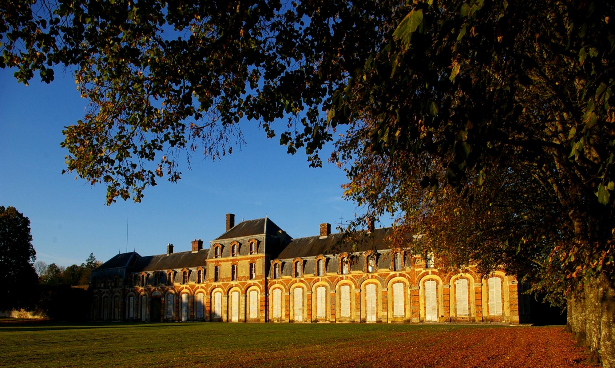 Visite commentée du parc du château de La Ferté-Vidame à LA FERTE-VIDAME - 2  © OT Forêts du Perche