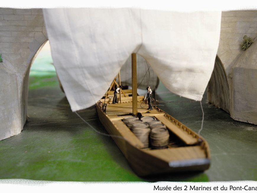 Musée des Deux Marines et du Pont-canal à BRIARE ©  Maison des Deux Marines