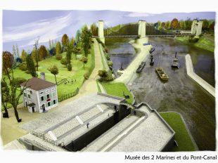 Musée des Deux Marines et du Pont-canal à BRIARE - 7  ©  René Chertier