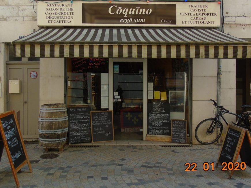 Coquino ergo sum à ARGENTON-SUR-CREUSE © NE2020