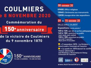 Expositions commémoratives de la Bataille de Coulmiers à COULMIERS - 2  © Mairie de Coulmiers