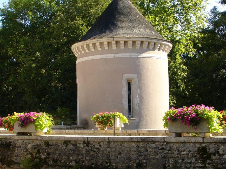 Parc du château de Lisledon à VILLEMANDEUR © OT AME