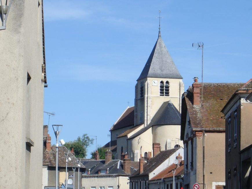 Eglise Saint-Loup à CEPOY © OT AME
