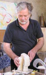Atelier Daniel Szakonyi à EGUZON-CHANTOME © Daniel Szakonyi