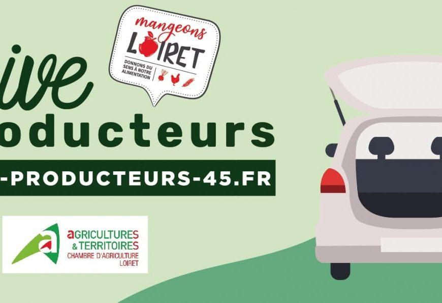 Drive des Producteurs à AMILLY © Chambre d'agriculture dui Loiret