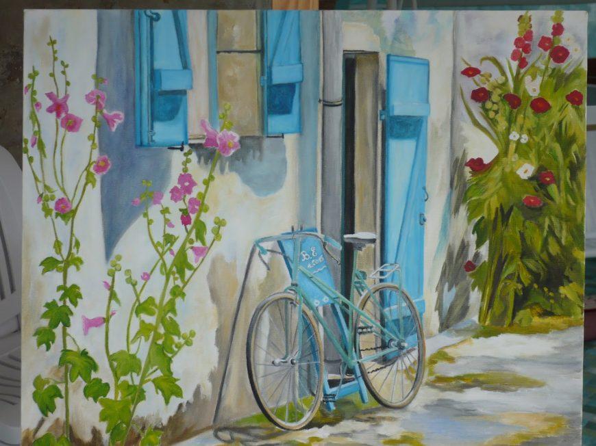 La Grange aux Peintures à VILLORCEAU ©  Edwige Breton
