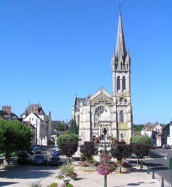 Eglise Saint-Etienne à BRIARE ©  Office de Tourisme de Briare