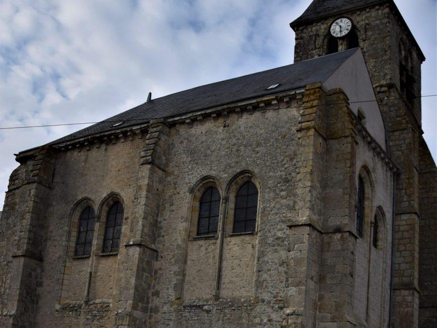Eglise Saint-Etienne-Saint-Jean-Baptiste à BRIARRES-SUR-ESSONNE © otgp