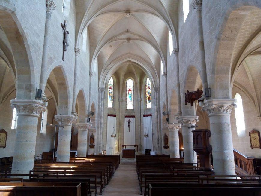 Eglise Saint-Sulpice à NIBELLE © otgp
