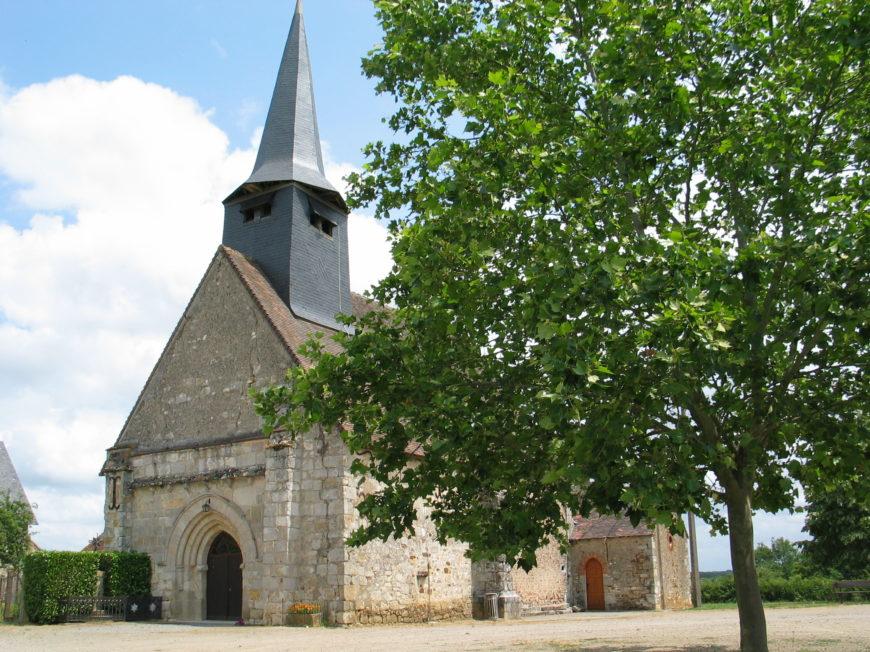 Eglise Notre Dame de Tilly à TILLY ©  Conseil Départemental