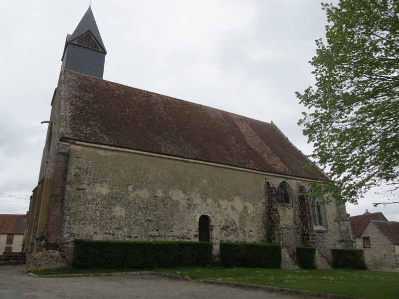 Eglise Saint-André à SAINTIGNY - 3  ©  CDT28