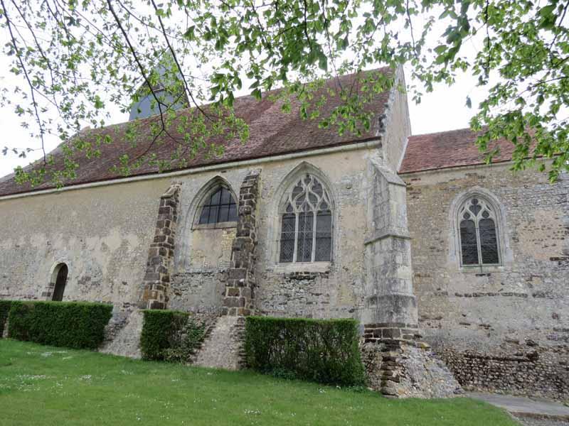 Eglise Saint-André à SAINTIGNY - 2  ©  CDT28