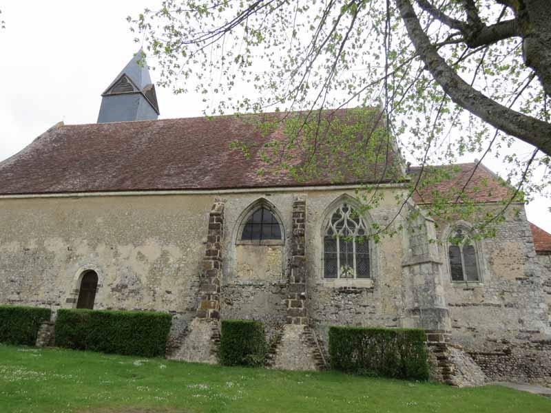 Eglise Saint-André à SAINTIGNY - 4  ©  CDT28