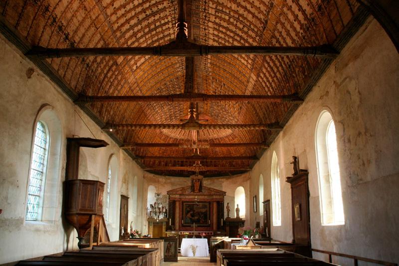 Eglise Saint Martin de la Croix du Perche à LA CROIX-DU-PERCHE © ADRT28