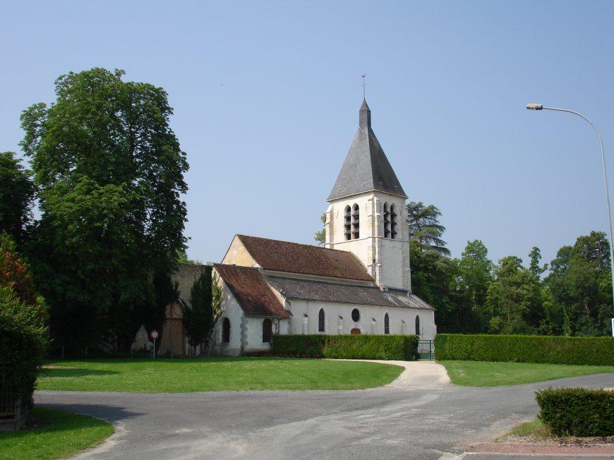 Eglise Saint-Nicolas à VILLEMOUTIERS © Mairie Bellegarde