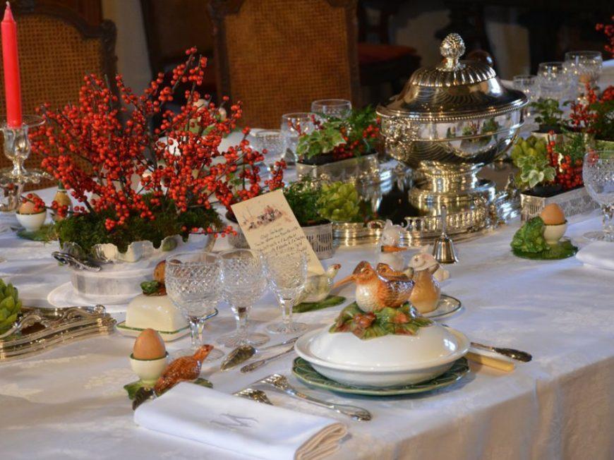 Exposition L'art de la table à la française au Château de Montpoupon à CERE-LA-RONDE © château de Montpoupon