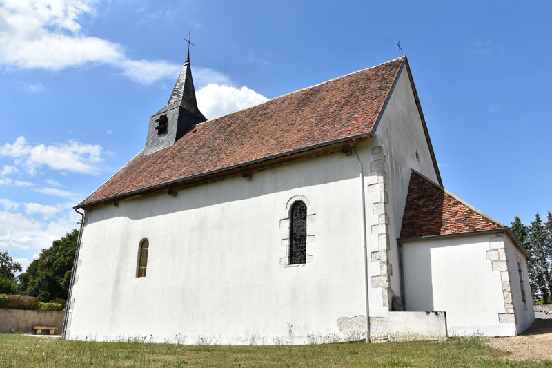 Eglise Saint-Sulpice à FEINS-EN-GATINAIS © OT Terres de Loire et Canaux -IRémy