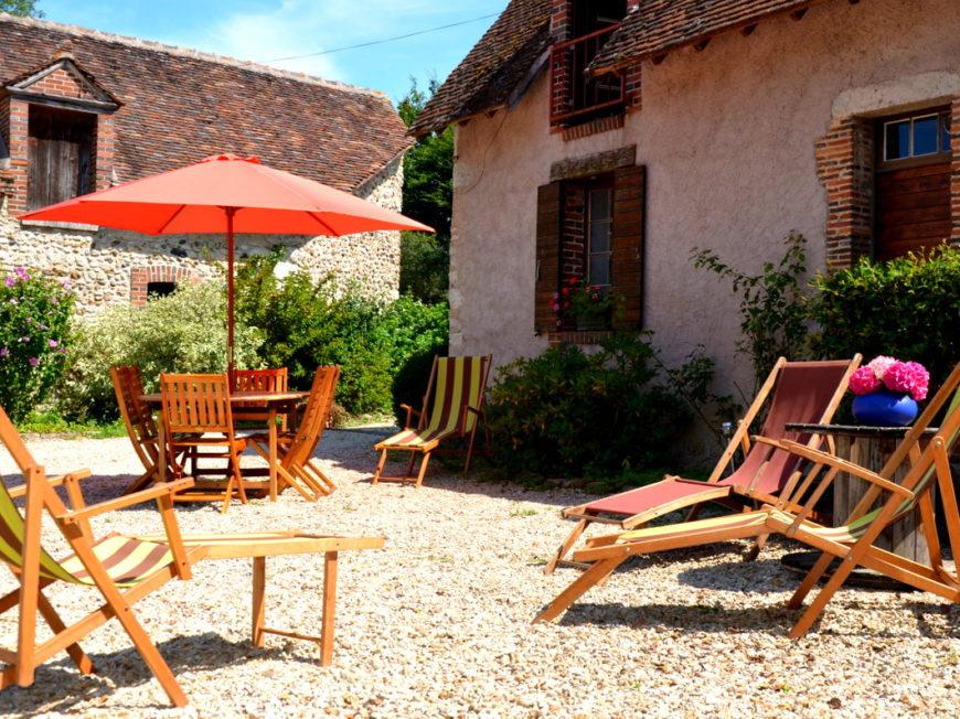 La Ferme de la Rougerie – Meublé touristique à CONFLANS-SUR-LOING © Ferme de la Rougerie