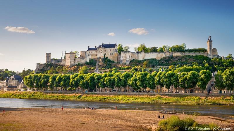 Forteresse royale de Chinon à CHINON © Jean-Christophe COUTAND MEHEUT