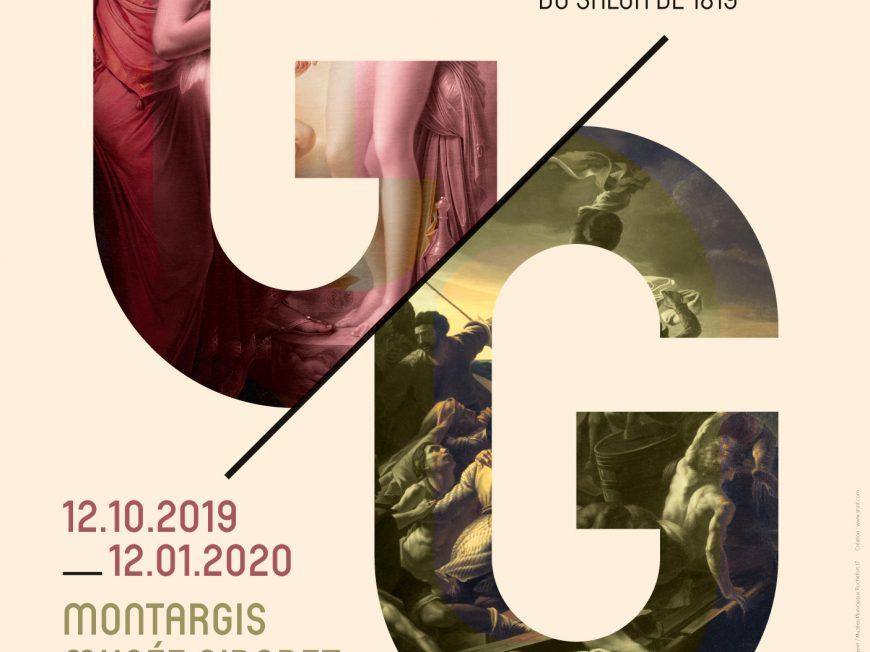 Exposition Girodet face à Géricault ou la bataille romantique du salon de 1819 à MONTARGIS © Musée Girodet - Agglomération Montargoise