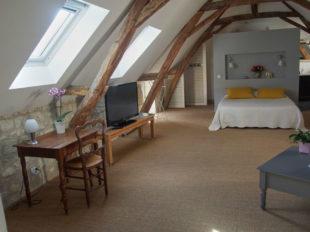 Chambres d'Hôtes 22 Rue du Poids à BOURGUEIL - 3  ©  Dominique Haubois
