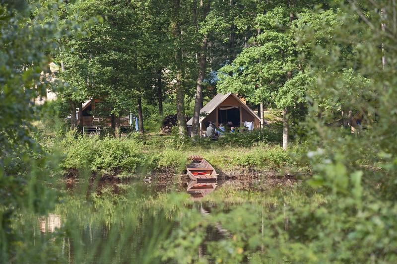 Canadienne Huttopia à SENONCHES - 3  © Canadienne Huttopia
