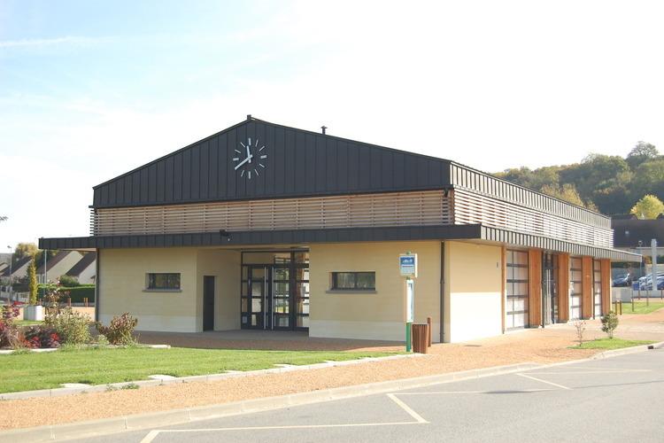 Halle de Margon à ARCISSES © Mairie de Margon