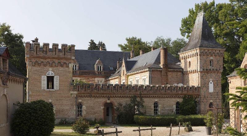Hostellerie du Château Les Muids à LA FERTE-SAINT-AUBIN © Les Muids